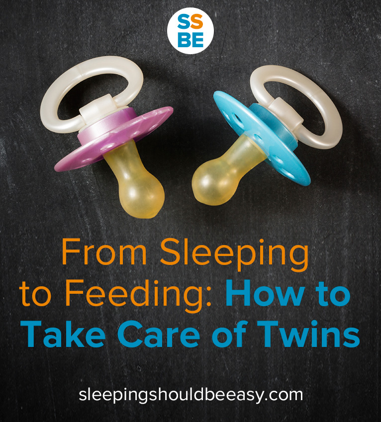 It's hard enough caring for one baby—from sleeping to feeding, here's how to take care of twins, from feeding to sleeping and everything in between.