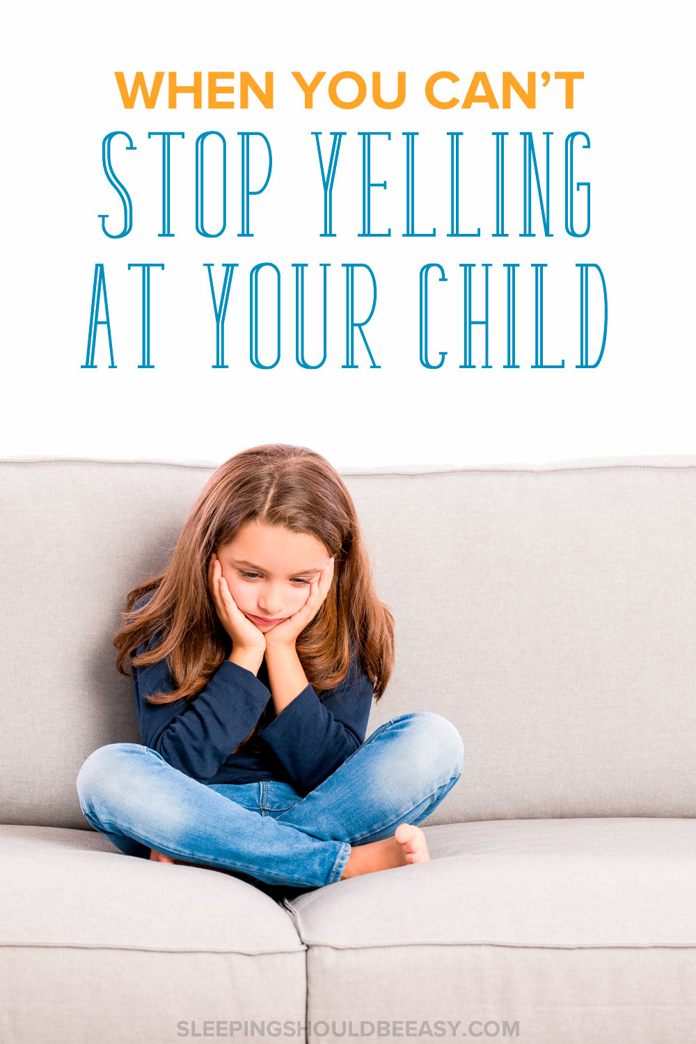 Do you struggle with losing your temper with your children? Discover how to stop yelling at your kids, control your anger and keep your patience.