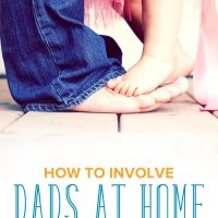 Do you find yourself doing everything, and leaving dad out of the picture? Here's how to involve dads at home — and why you should.