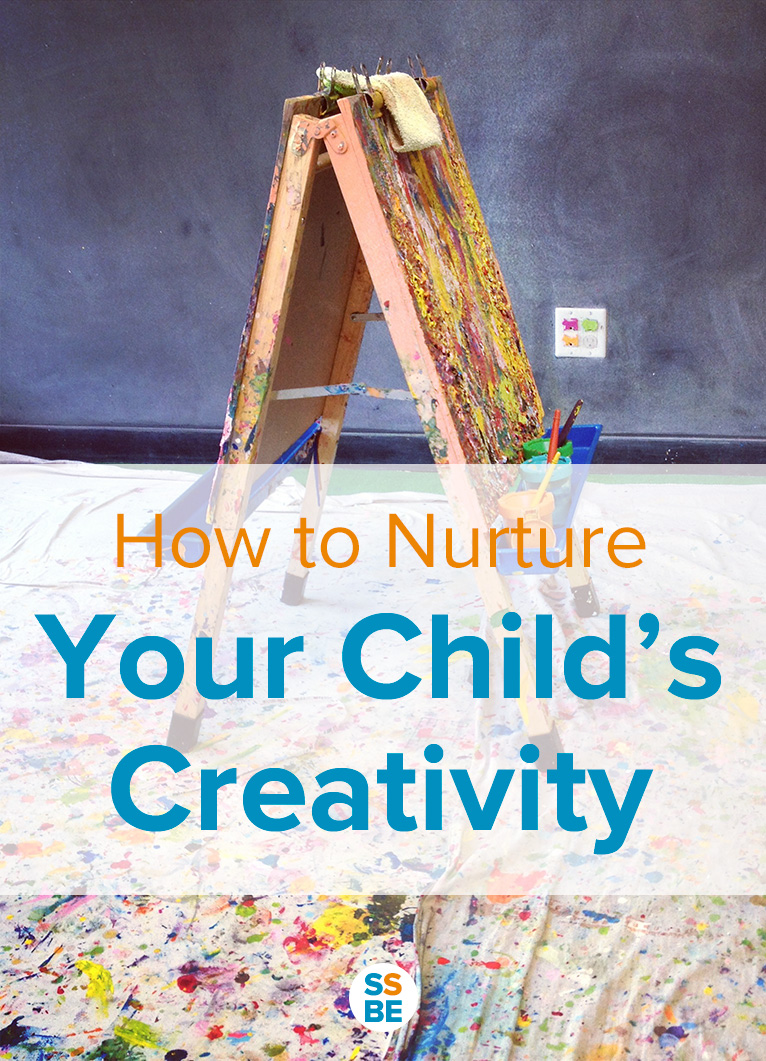 Encourage, don't stifle! Using free play and crafts, here's how to nurture your child's creativity and cultivate a love of learning and imagination.