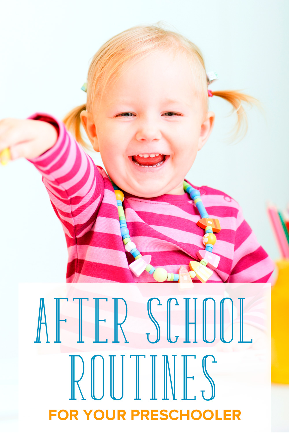 What to do after your child comes home from preschool? Here are some ideas on creating a good after school schedule for your preschooler.
