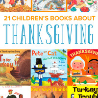 21 Children's Books about Thanksgiving