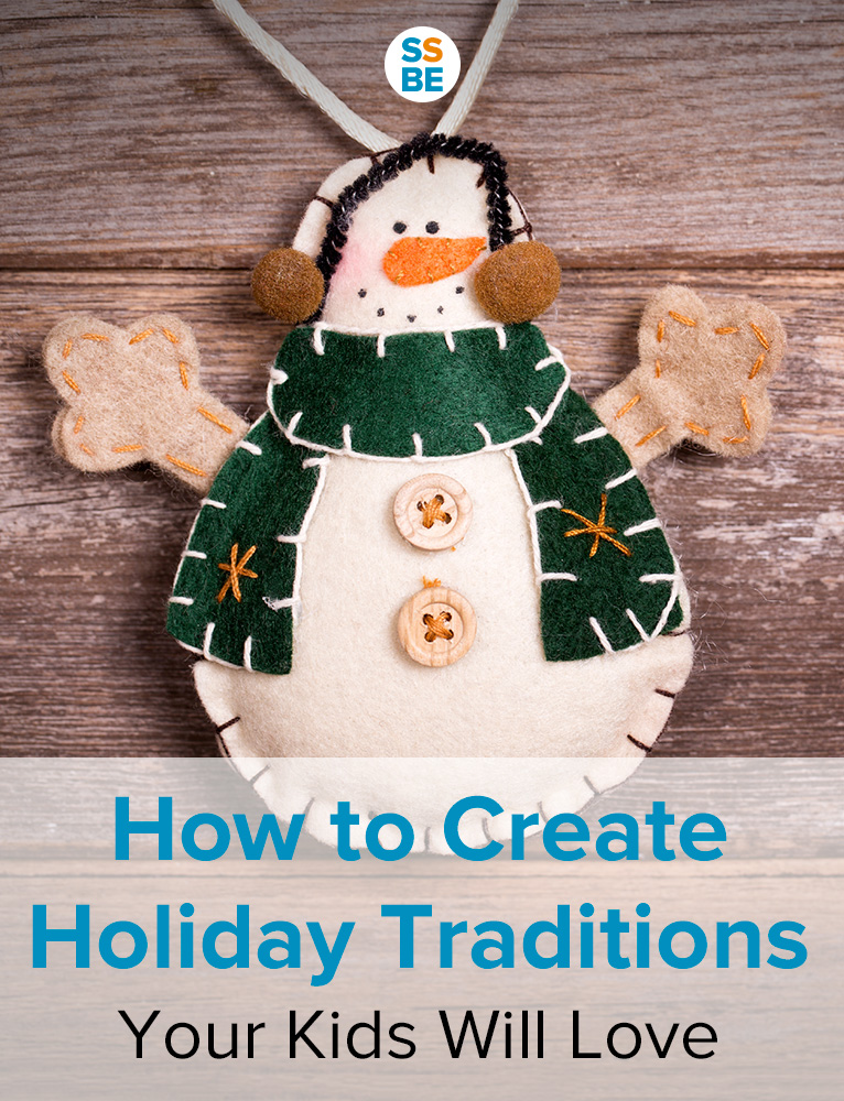 Holiday traditions make the seasons extra special. I'm sure you can remember fond memories of your own. Here's how to create holiday traditions you and the kids will enjoy.