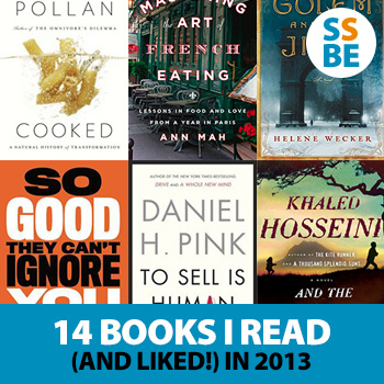 14 Books I Read (and Liked!) in 2013