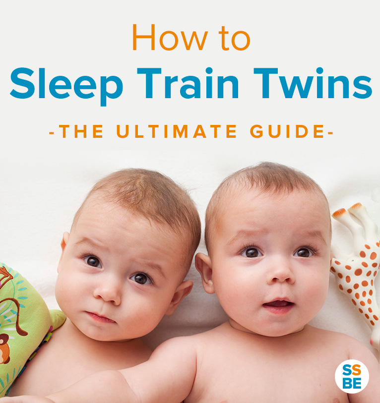 Are you up multiple times in the night putting your twins to sleep? Get the sleep you need! Read this step-by-step guide on sleep training twins.