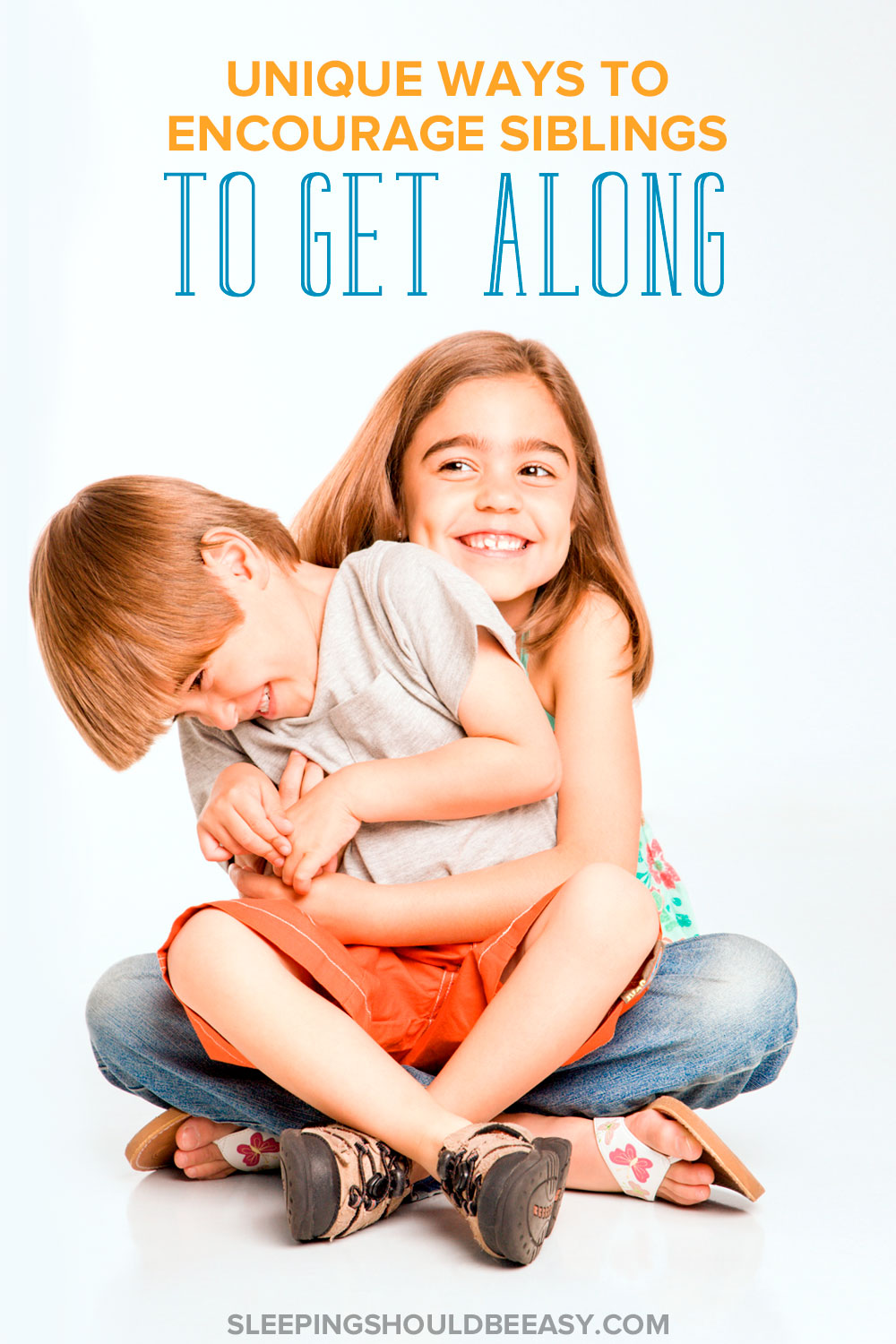 Sibling rivalry isn't inevitable. Many children actually like and get along with their siblings. Here are tips for helping siblings get along.