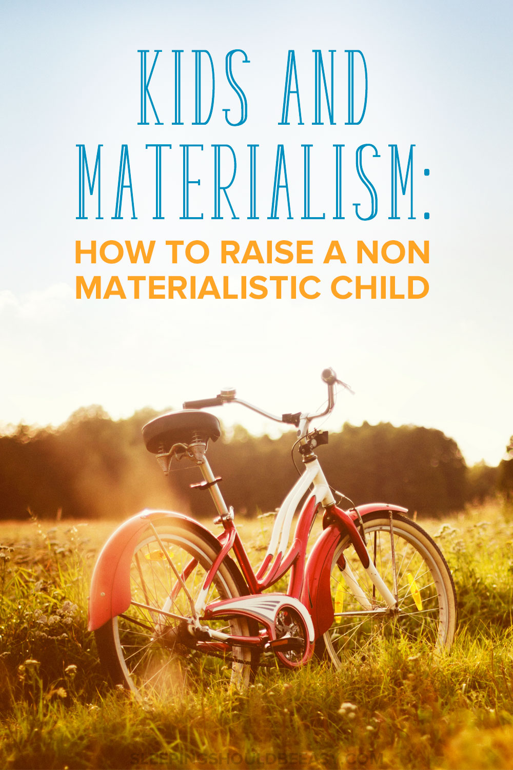 Worried about kids and materialism and the constant desire for more? Learn how to raise non materialistic children and instill important values.