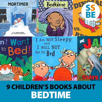 9 Children's Books about Bedtime