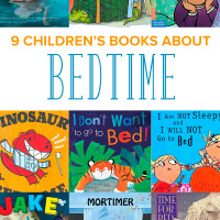 21 Children's Books about Bedtime