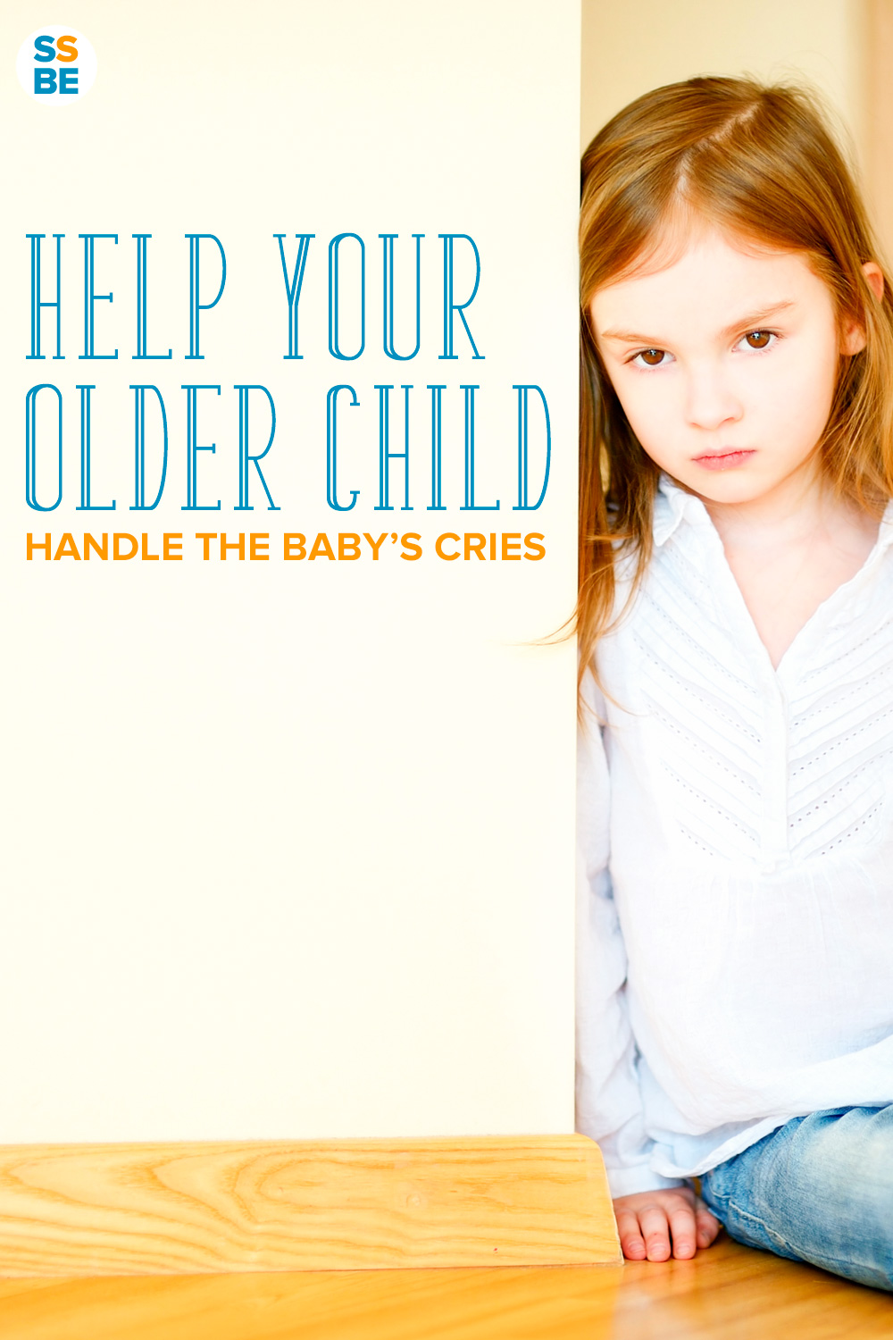 It's hard for parents to deal with a baby crying. Now your older child has to as well. Here's how to help your child handle a baby crying.