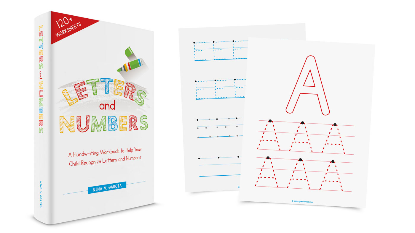 Letters and Numbers: A Handwriting Workbook to Help Your Child Recognize Letters and Numbers