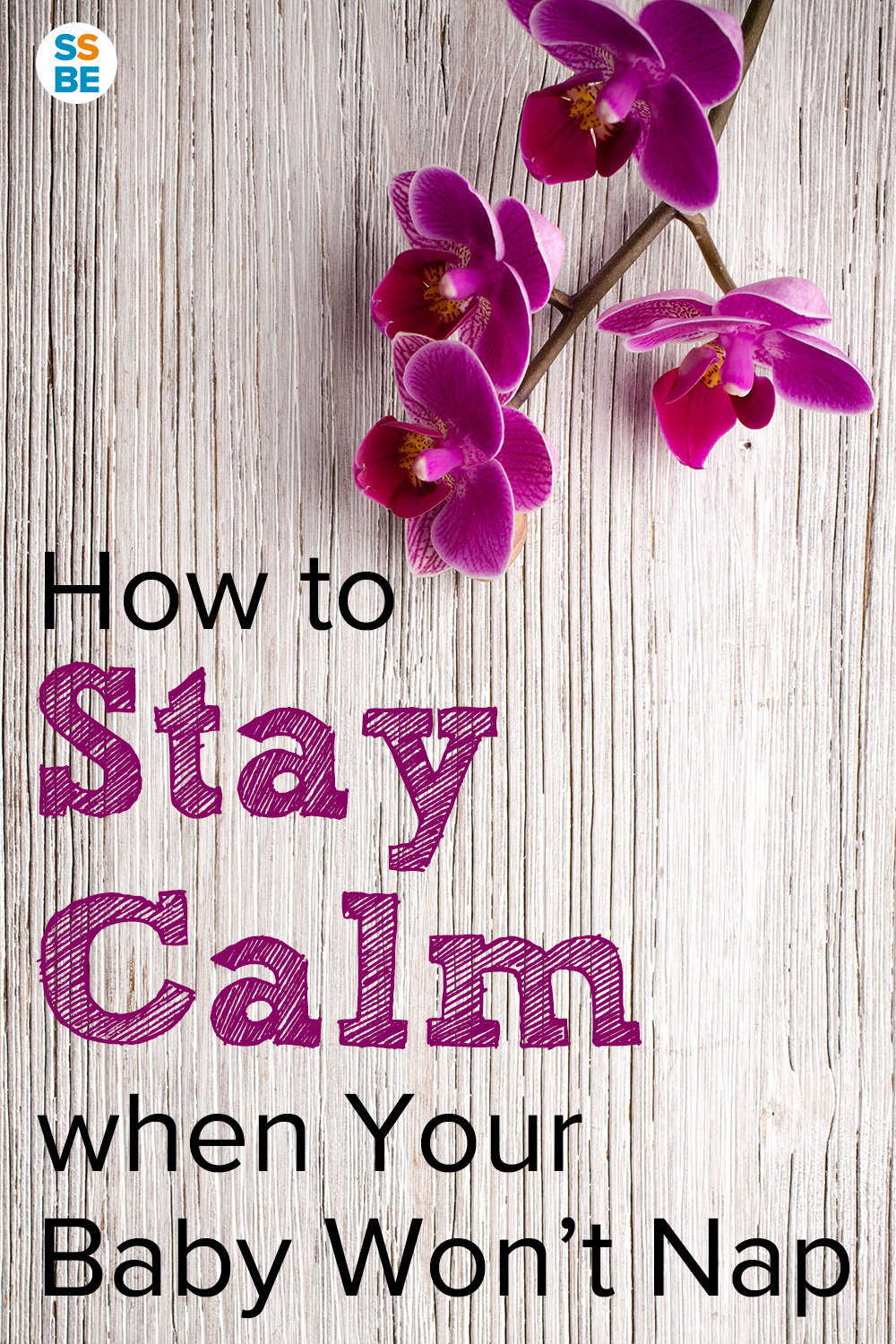 How to Stay Calm when Baby Won't Nap