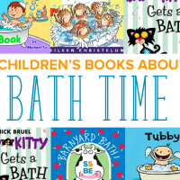 8 Children's Books about Bath Time