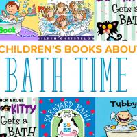 8 Children's Books about Bath Time