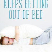 What to Do When Your Toddler Keeps Getting Out of Bed