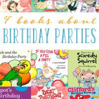 7 Children's Books about Birthday Parties