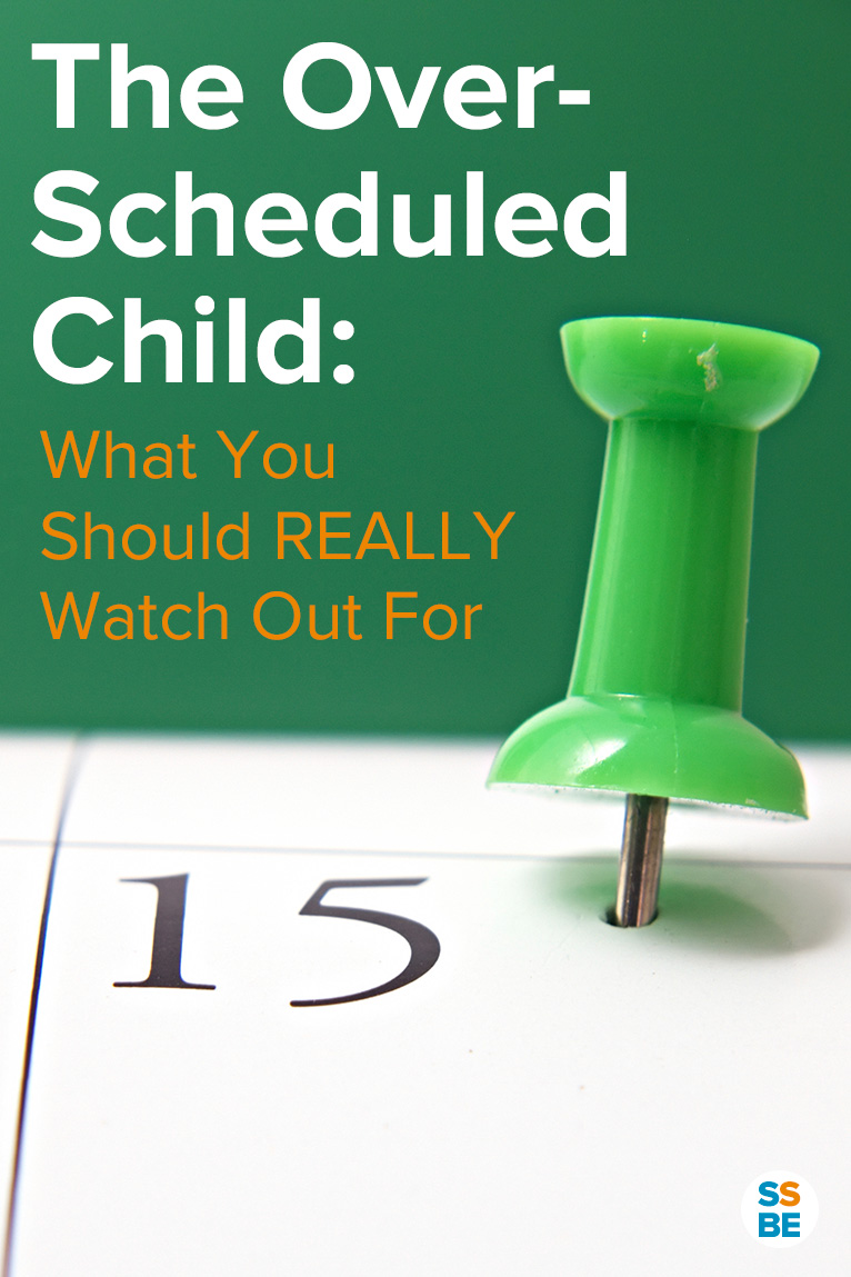 Feeling stressed from a packed calendar? Read the downsides of the overscheduled child, how to avoid overscheduling, and what to REALLY watch out for.