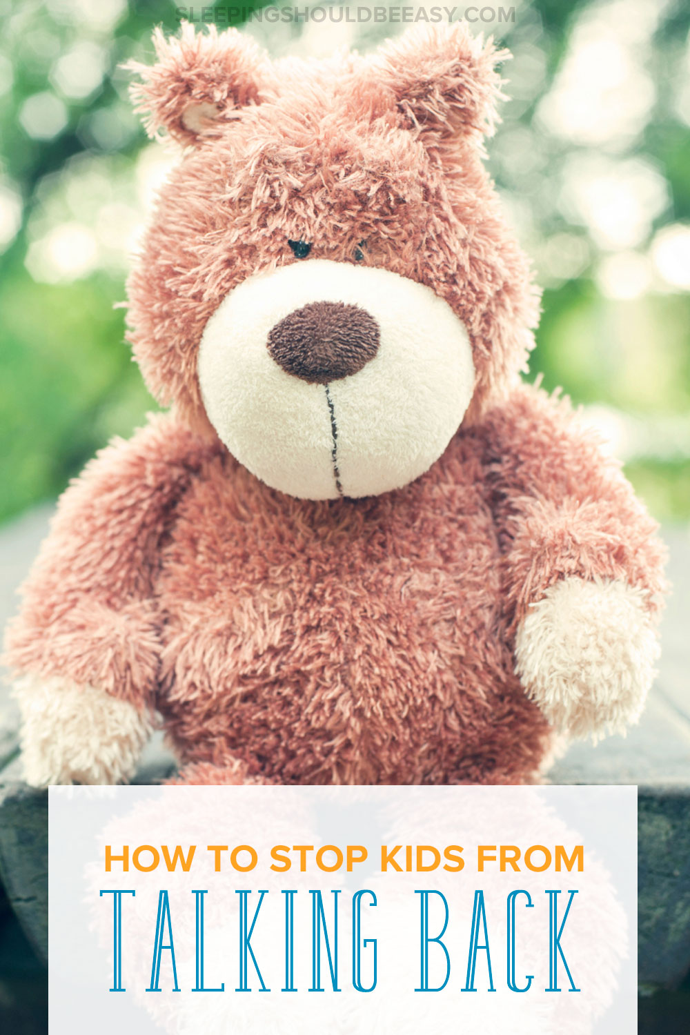Effective tips for any mom trying to get children to stop talking back. One of the hardest parts of parenting is learning how to respond when kids are disrespectful or talk back. If your child has been talking back and you don't know what to do, this article not only explains why, but how to understand their behavior and provide them with other ways to express their feelings. Even includes a FREE printable where you'll learn ONE effective word to get your child to listen!