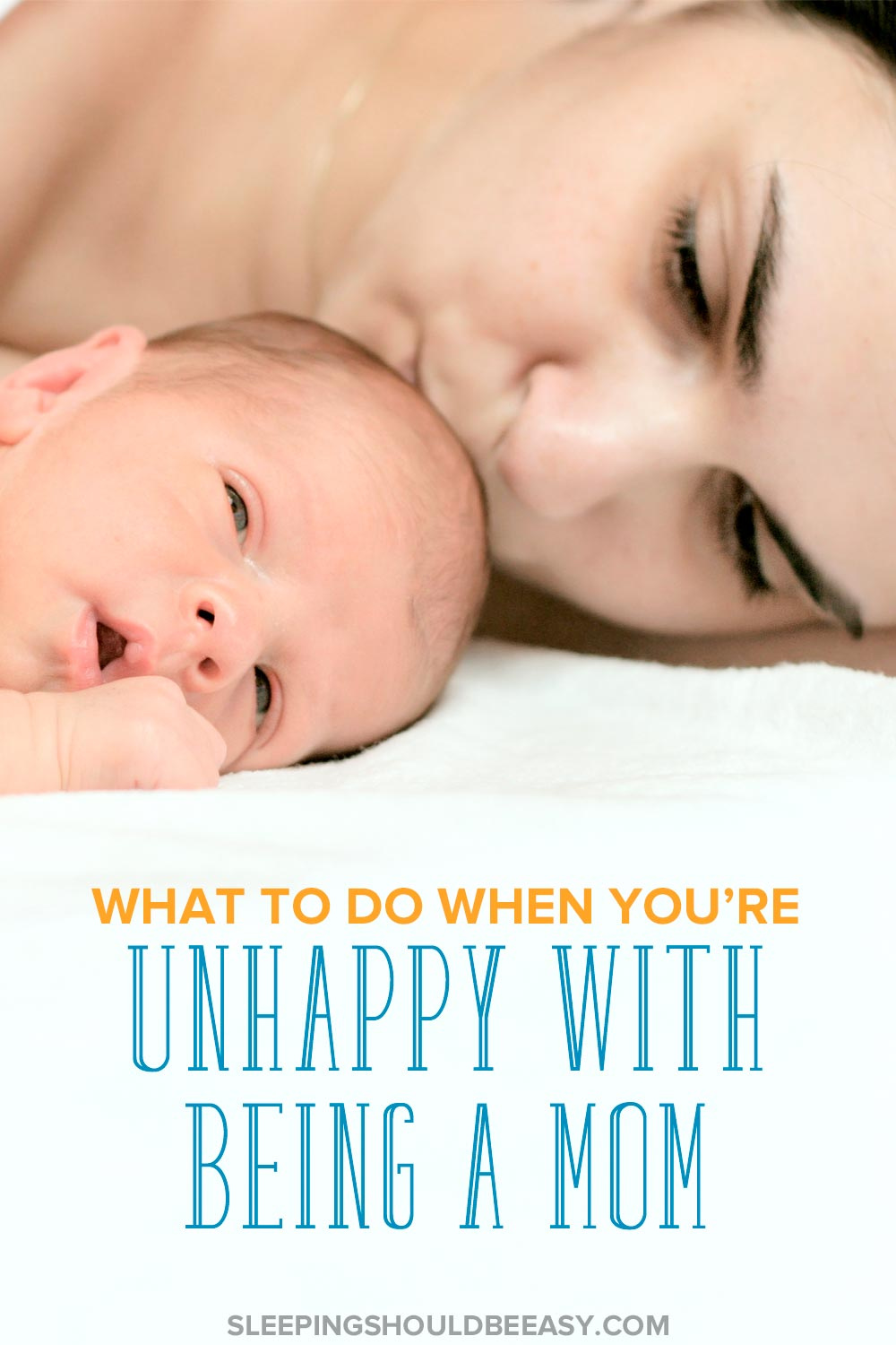 Not all moments of motherhood are perfect. In fact, being a mom can be downright hard. Discover how to be a happy mom even in the toughest moments.
