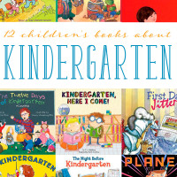 12 Children's Books about Kindergarten