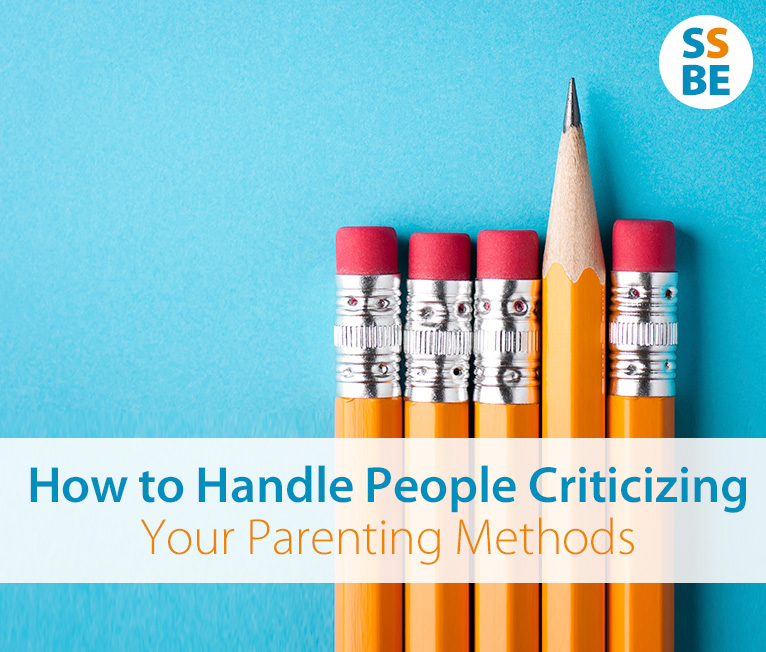 How to Handle People's Criticism of Your Parenting Methods