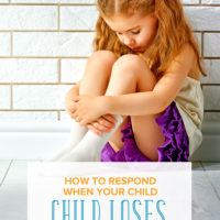 How to Respond when Your Child Loses a Competition