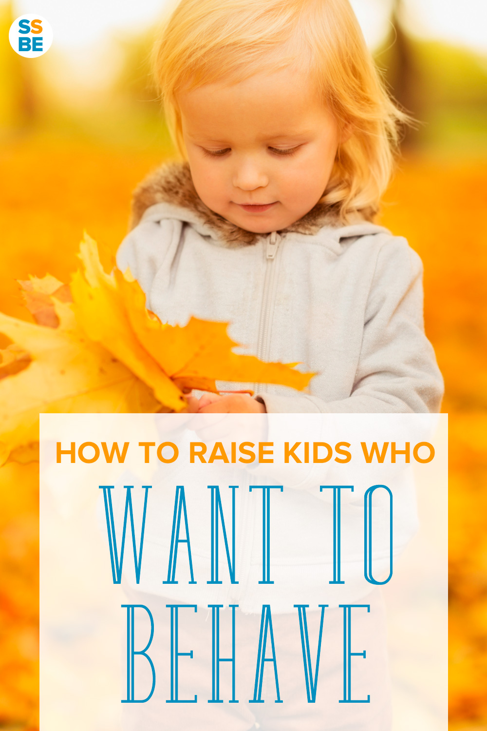 Are you seeing bad behavior in children? Here's how to raise kids not just to behave, but who WANT to, even when no one is looking.