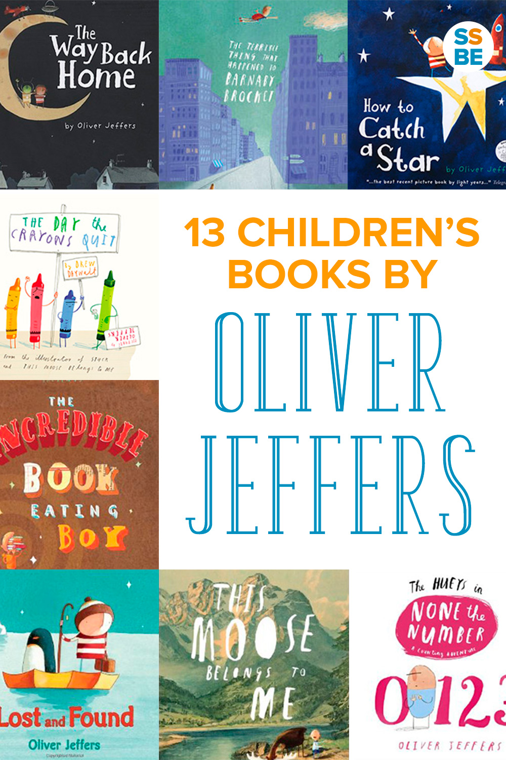 13 Children's Books by Oliver Jeffers