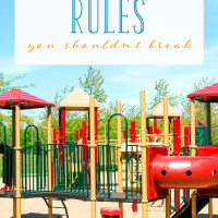 Playgrounds — you love them and you don't. Make sure to follow these 9 playground rules so you and your kids play nicely with others.