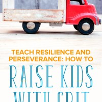 How to Raise Kids with Grit