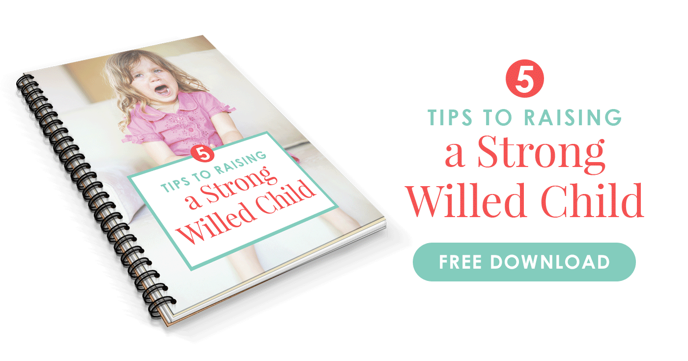 Free mini ebook on raising a strong-willed child