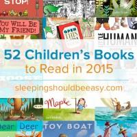 52 Children's Books to Read in 2015