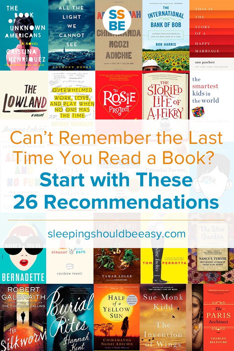 Want to read good books this year but don't know where to start? Here are 26 recommended reading books to enjoy and keep you reading.