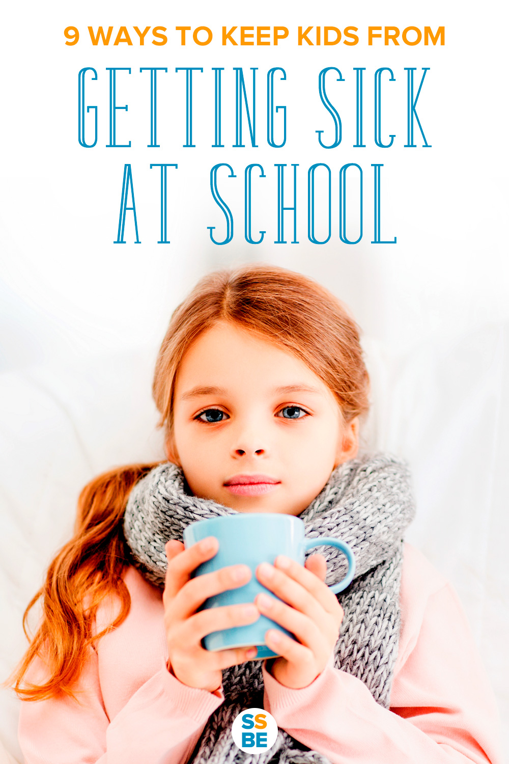Are all the kids at school sick? Caring for a sick child at home can be a hassle. Discover 9 ways to keep kids from getting sick at school.