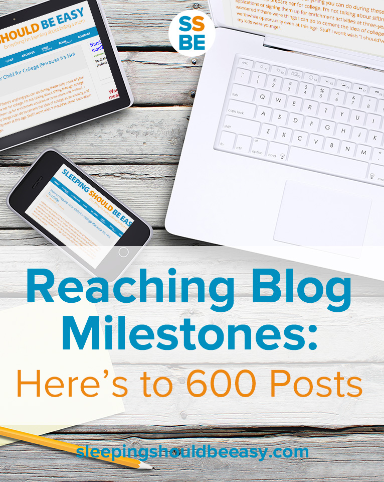 Reaching Blog Milestones: Here's to 600 Posts
