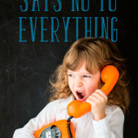 What to Do When Your Child Says No to Everything