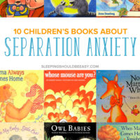 10 Children's Books about Separation Anxiety