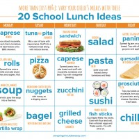 More than Just PB&J: Vary Your Child's Meals with These School Lunch Ideas