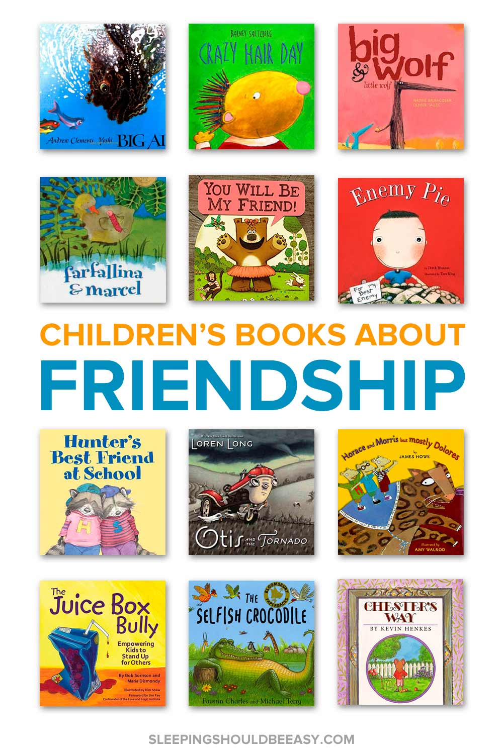 children s books about friendship and being a good friend