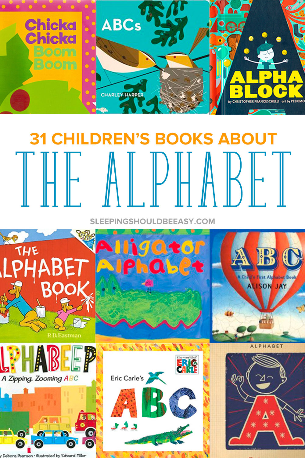 Introduce your kids to letters and learning to read by reading picture books. Here is the ultimate list of children's books about the alphabet.