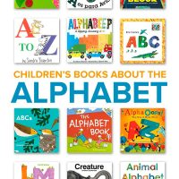 A collection of children's books about the alphabet