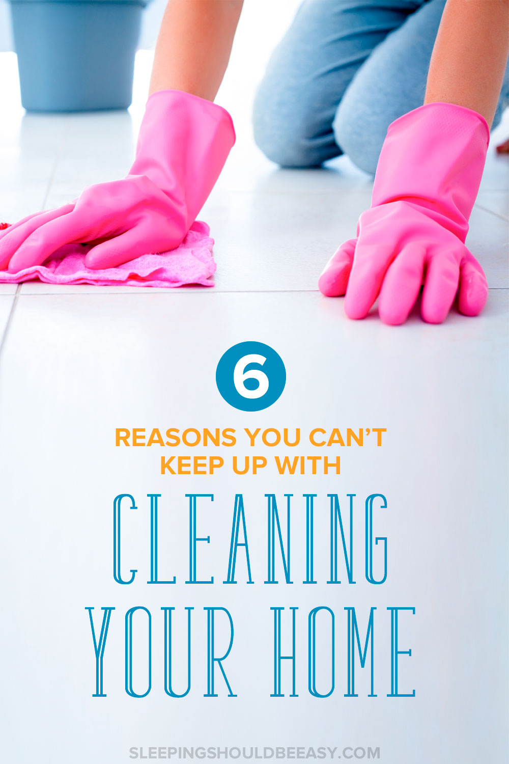 6 Reasons You Canu0027t Keep Up With Cleaning Your Home: Pair Of Pink