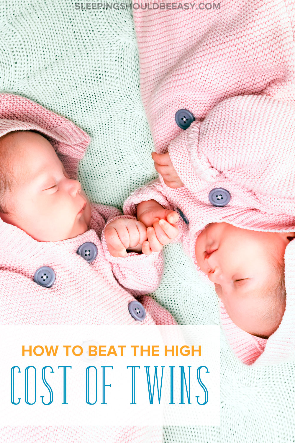 Things you should do to handle the cost of twins. If you just found out you're expecting twins, you might be worried about your finances and the cost of having twins. A must for any parent who wants to learn how to save money with twins!