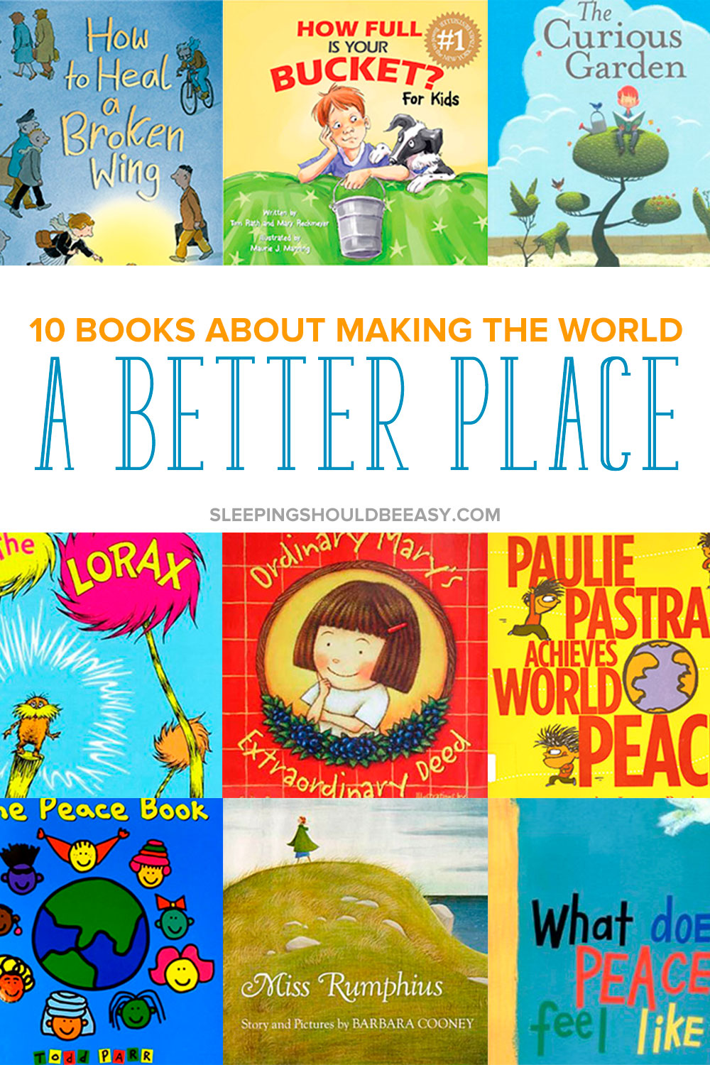 Inspire our future generation with children's books about making the world a better place. Get ideas to teach empathy, kindness to people and taking care of our world. These 10 children's books about changing the world will inspire and show kids how to do just that.