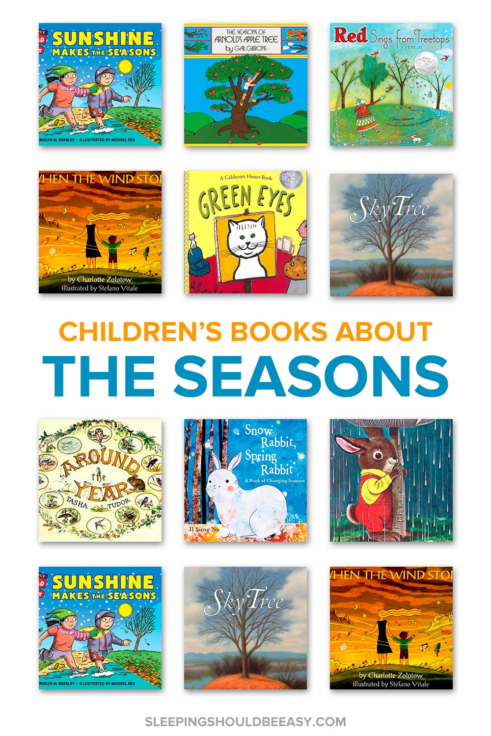 Want to discuss winter, spring, summer and fall with your child? Discover the top 10 children's books about seasons of the year to read.