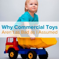 Why Commercial Toys Aren't as Bad as I Assumed