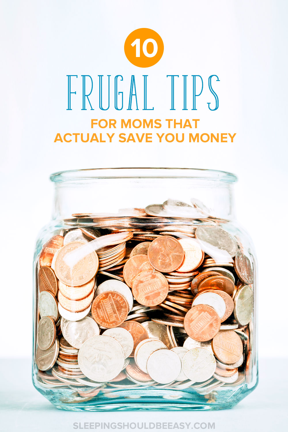 Parenthood can wipe out your finances. Here are 10 frugal tips for moms to make sure that doesn't happen. These tips are perfect for thrifty moms looking to save money on children.