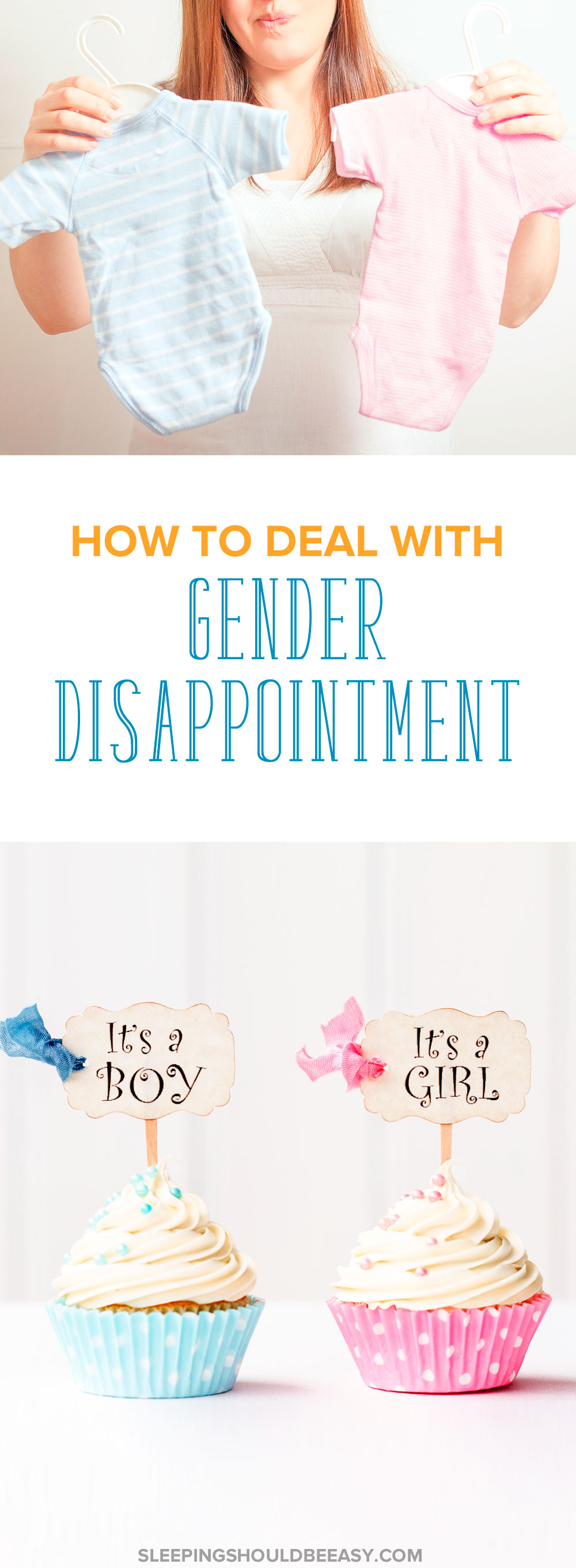 Disappointed about the gender of your baby — and feeling guilty because you do? Gender disappointment depression is more common in pregnancy than you think. Here's how to cope. Even includes a FREE printable pregnancy checklist of all the things to get done before the baby is born! #pregnancy #pregnant