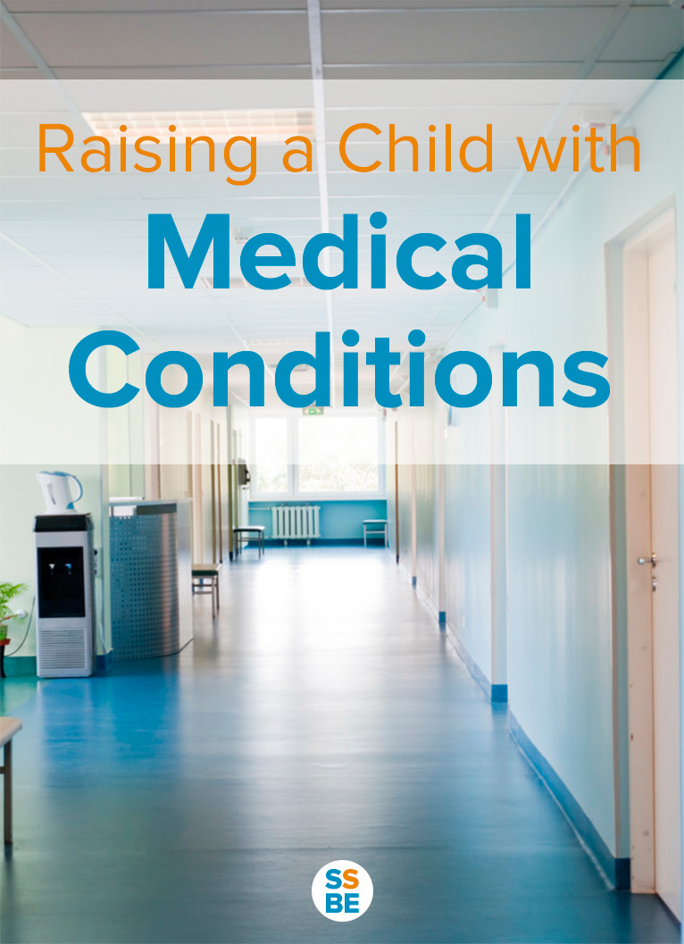 Read encouraging words and tips from a mom raising a child with health problems and how she coped and rose above the challenges.