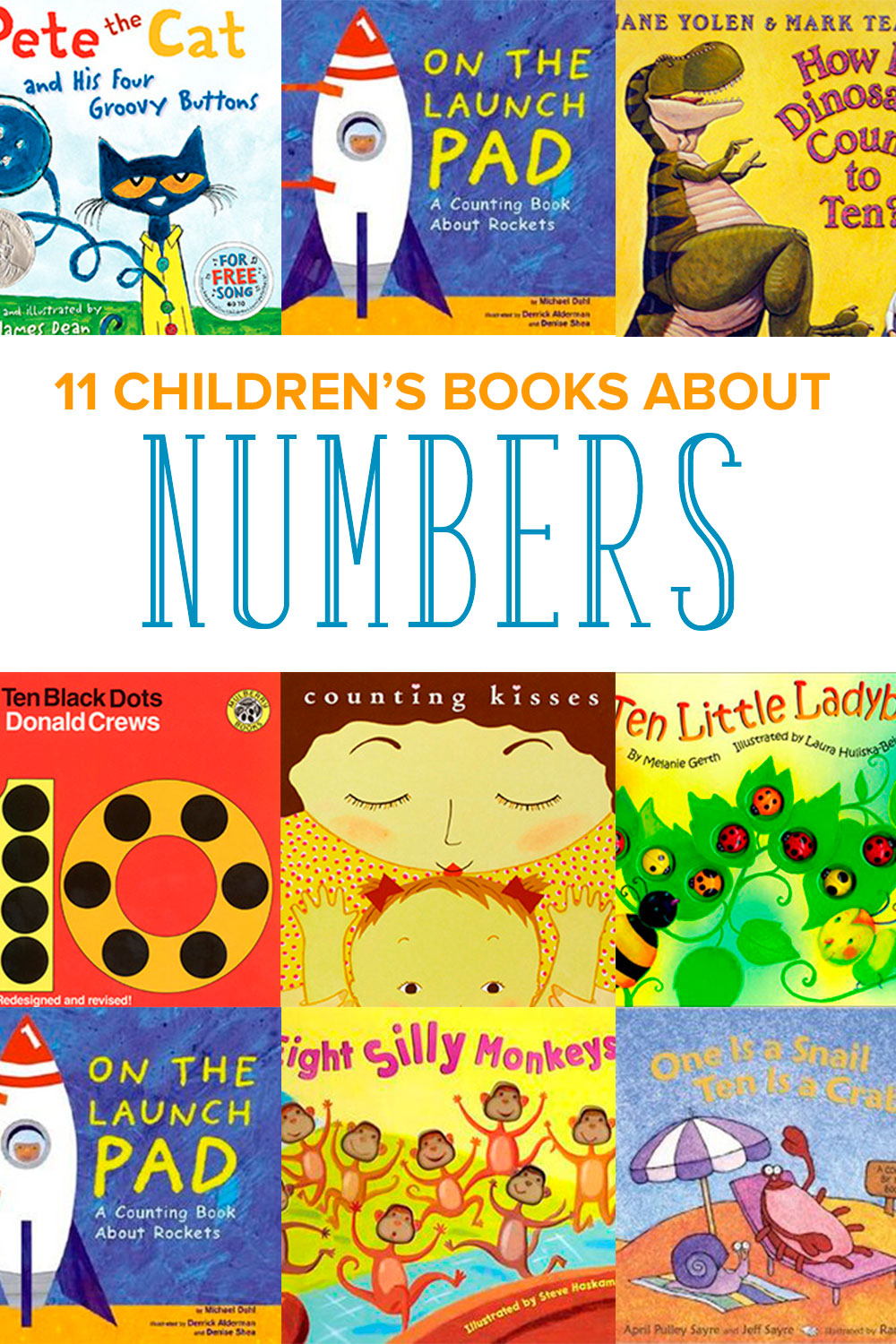 Is your child ready to count and learn about numbers? Books are a great way to start. Read these 11 children's books about numbers and counting.